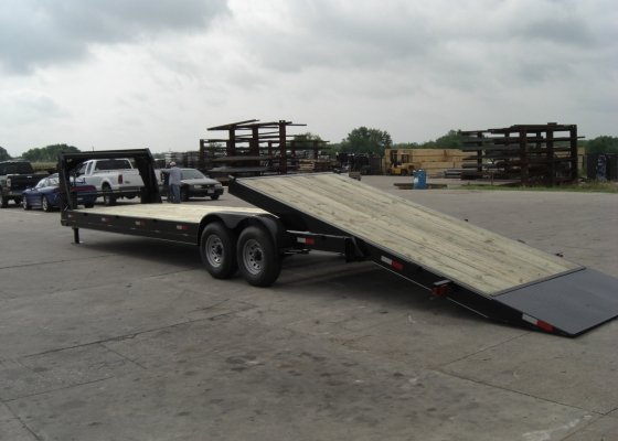 Equipment Tilt Trailer