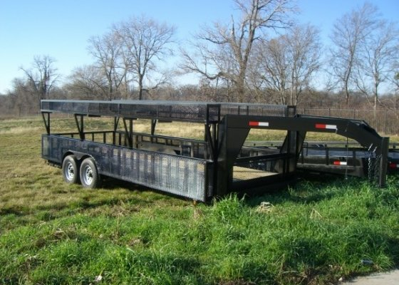 LANDSCAPE OR LAWN SPRINKLER TRAILER