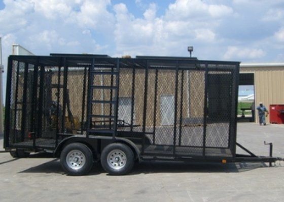 16 ft Trash Trailer