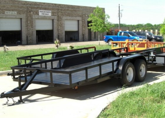 16 FT Angel Top Trailer