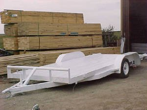 Car Hauler with Dove Tail Trailer