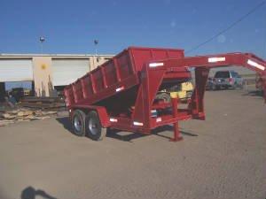 Hydraulic Dump Gooseneck Trailer