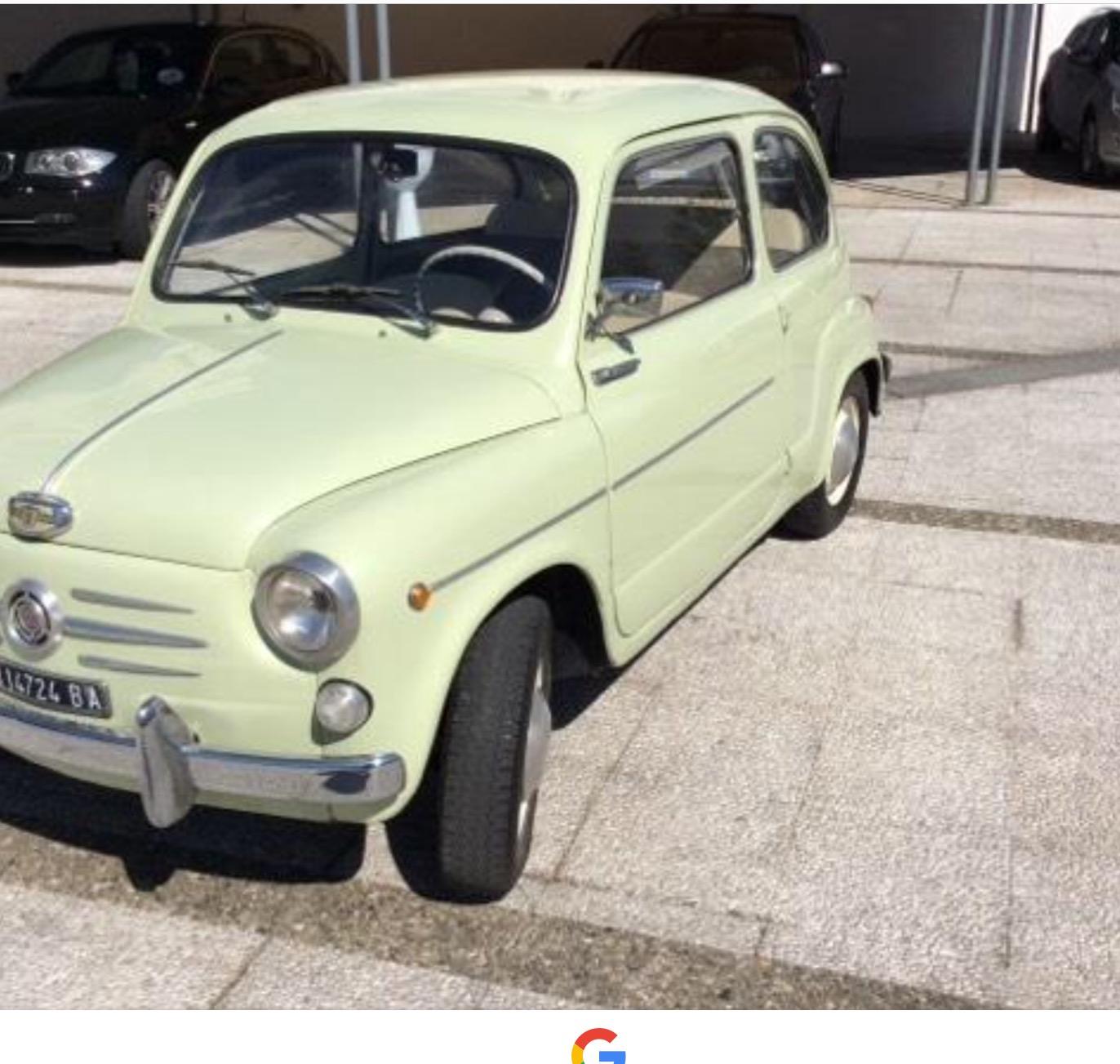 FRONTE LATERALE FIAT 500 EPOCA