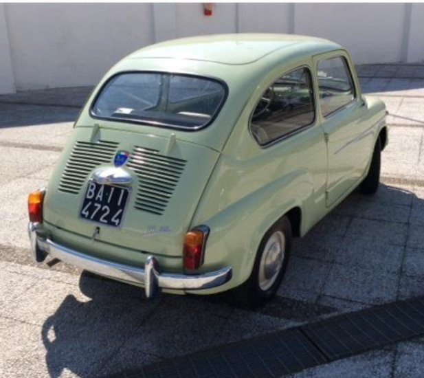 RETRO LATERALE FIAT 500 EPOCA