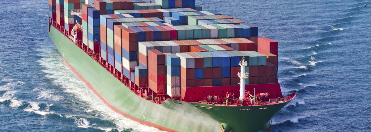 A ship in Brisbane carrying containers that need customs clearance