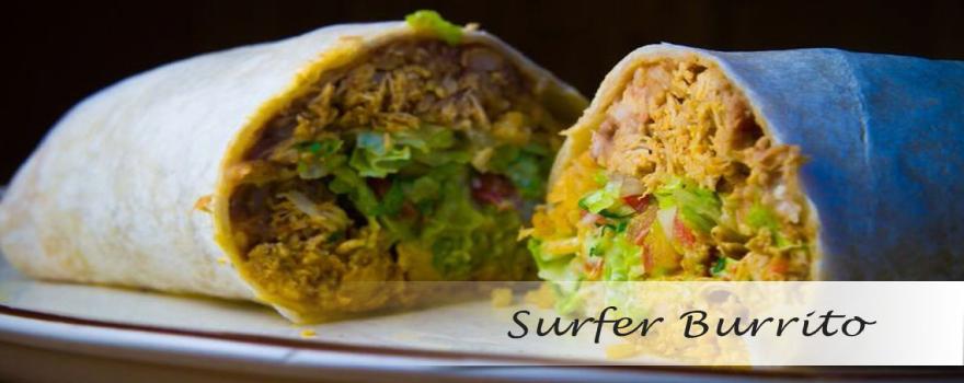 burrito, Surfer Burrito at Ricardo's Place SJC 92675