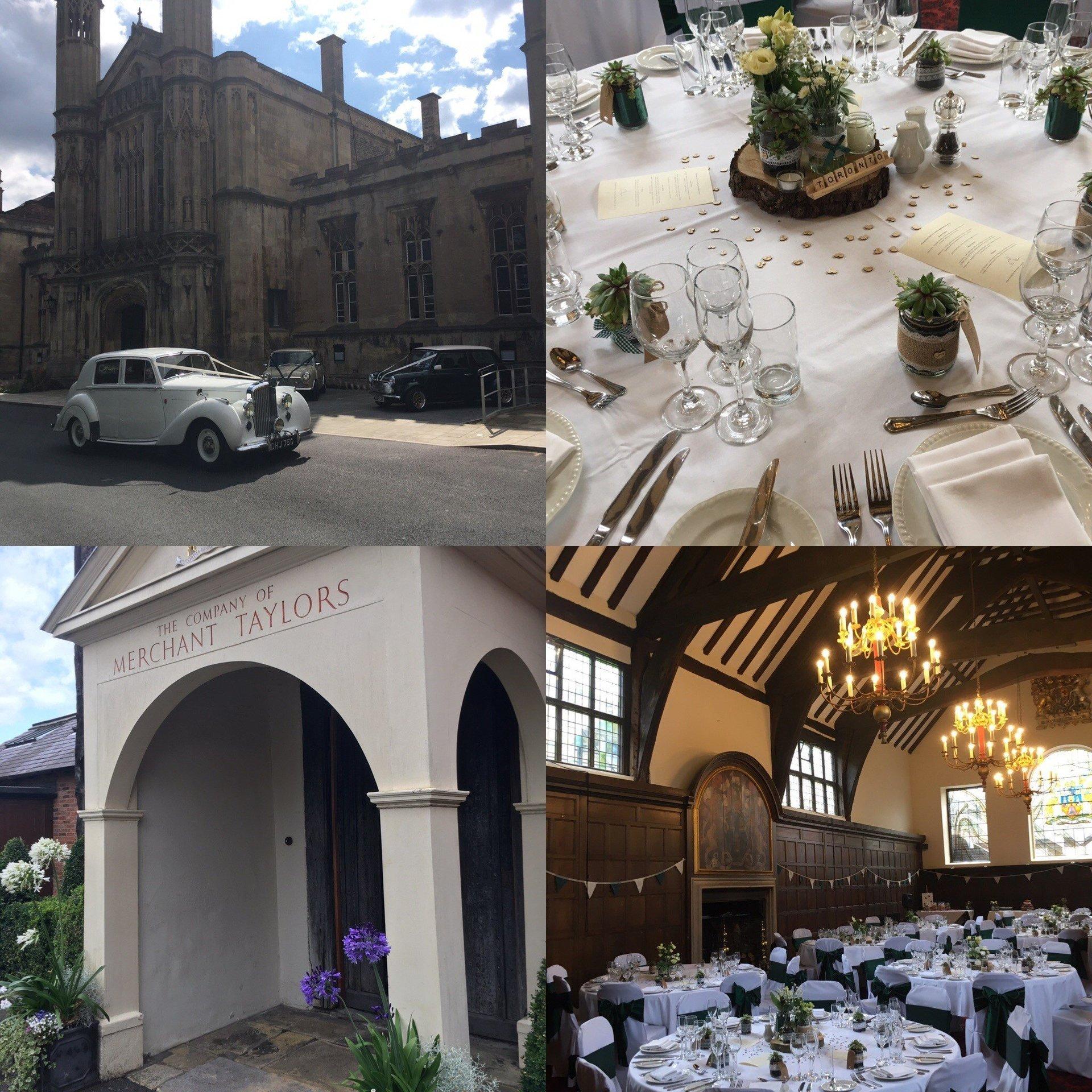Merchant Taylors Hall York Unique Wedding Venue