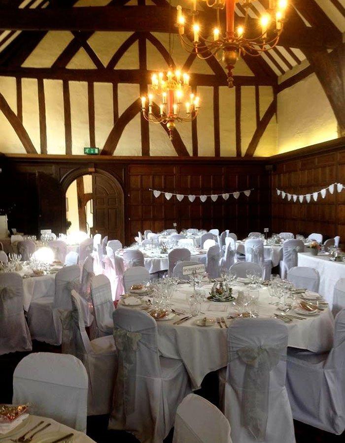 Merchant Adventurers Hall York wedding