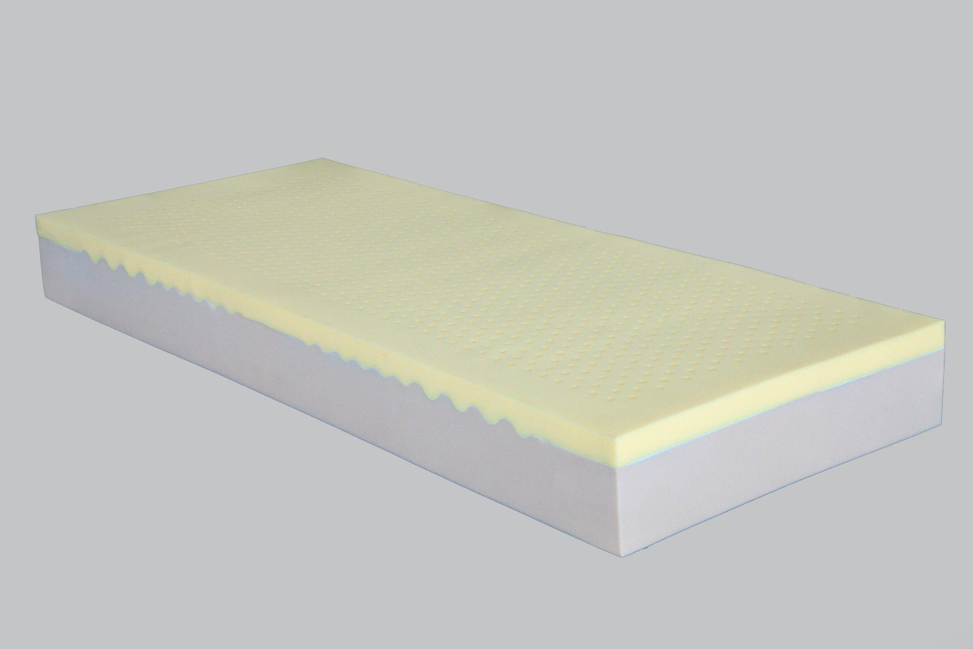 materasso in schiuma e lattice