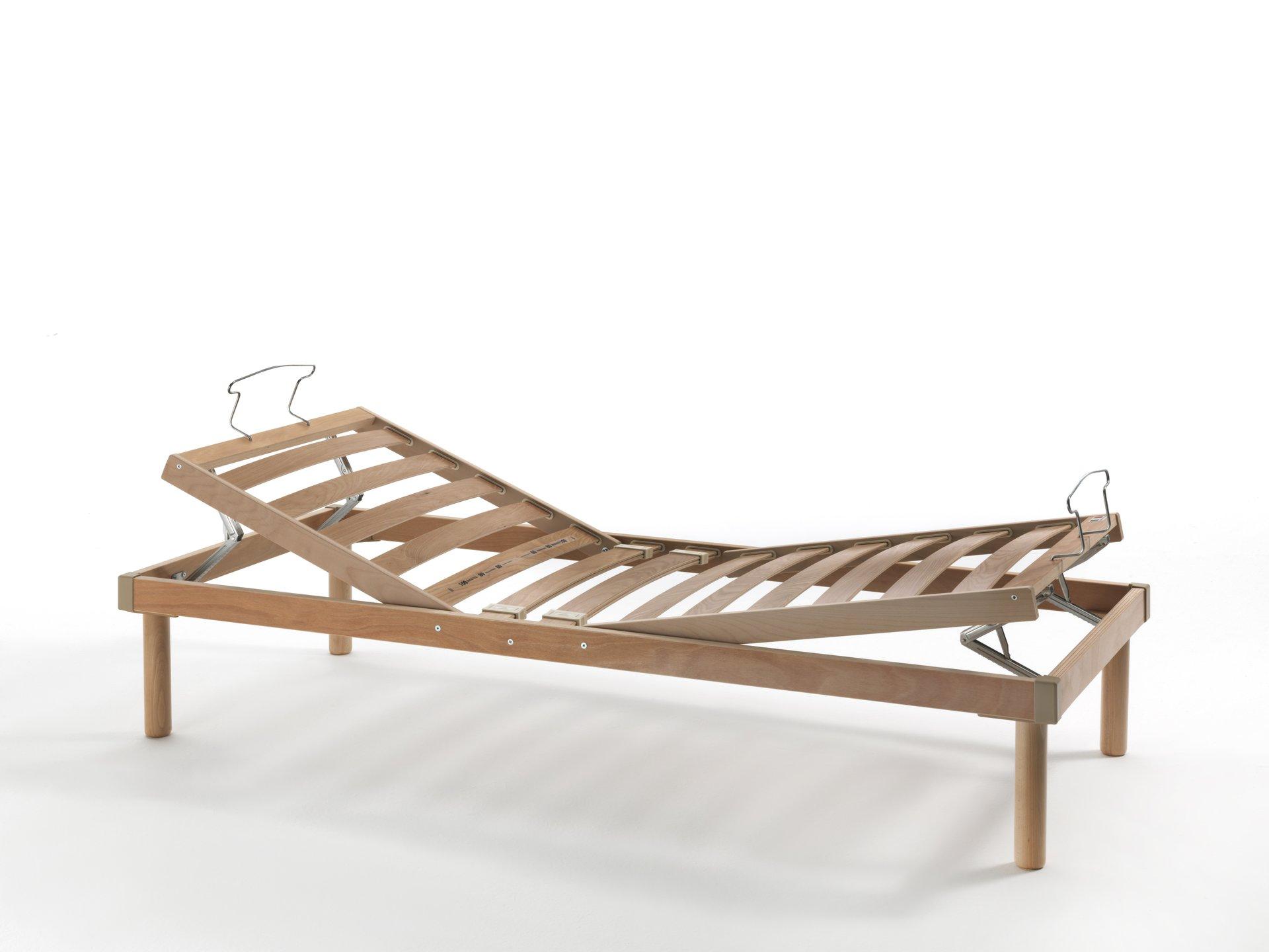 rete a doghe in legno reclinabile