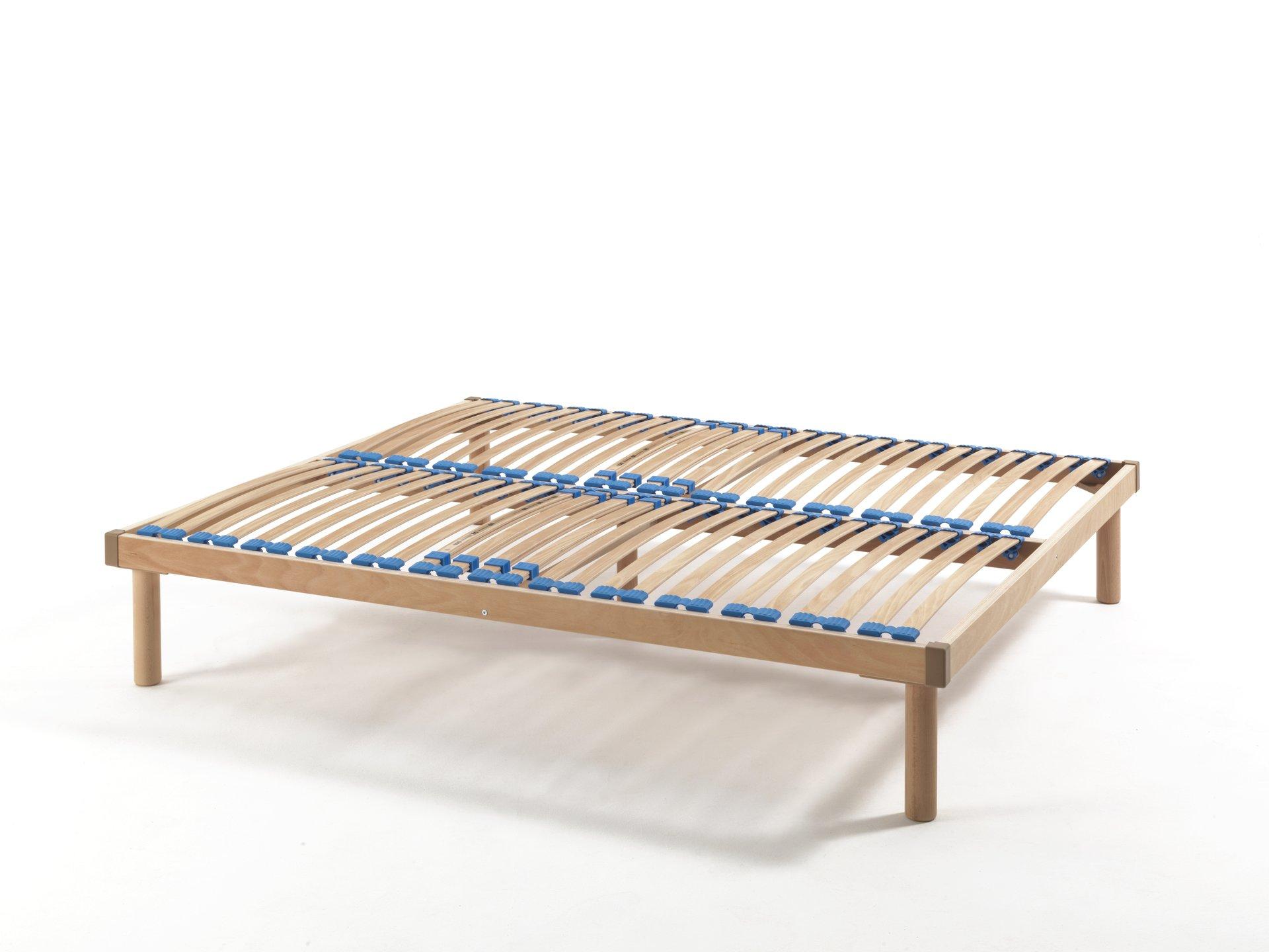 struttura letto ortopedica matrimoniale in legno