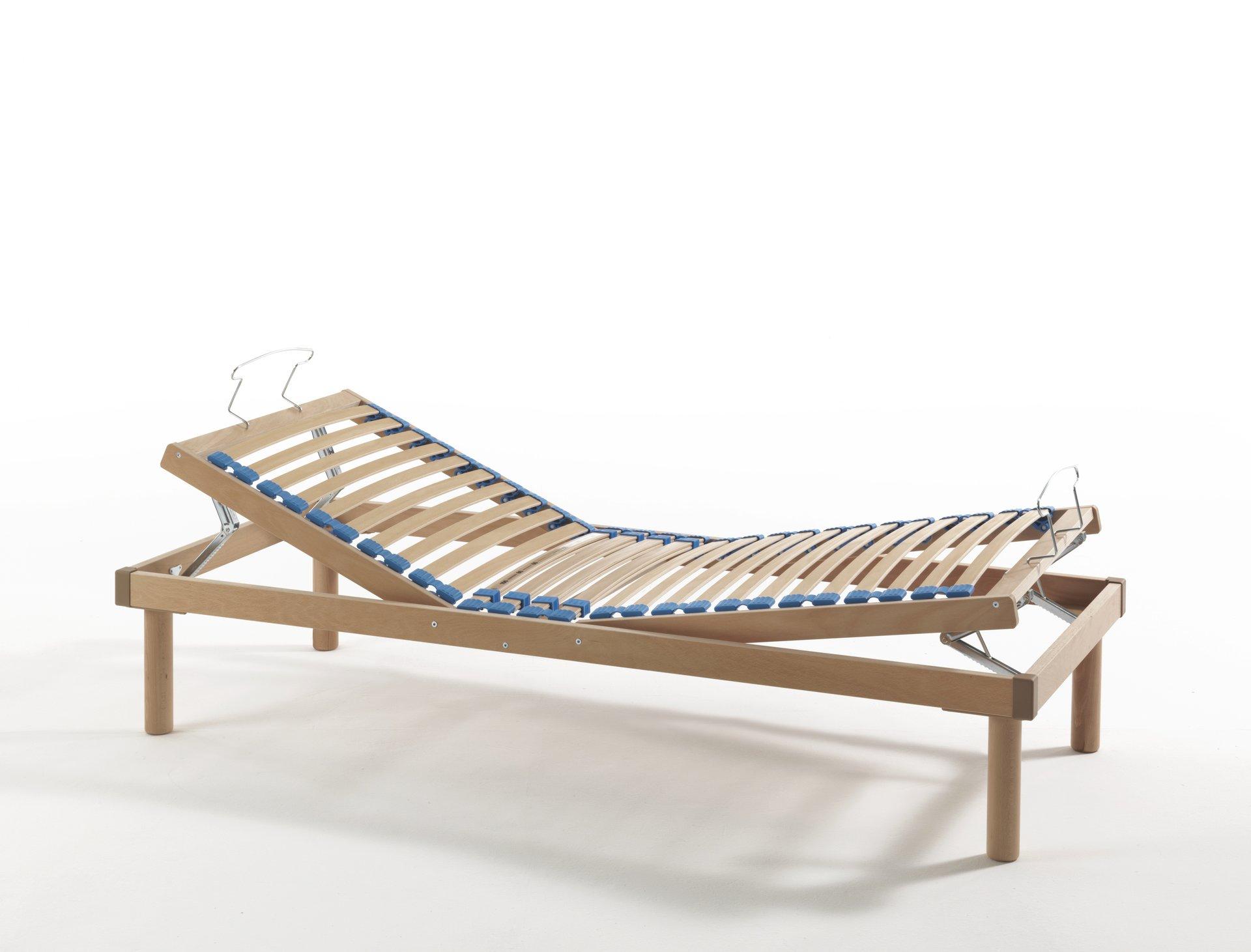 struttura a doghe reclinabile