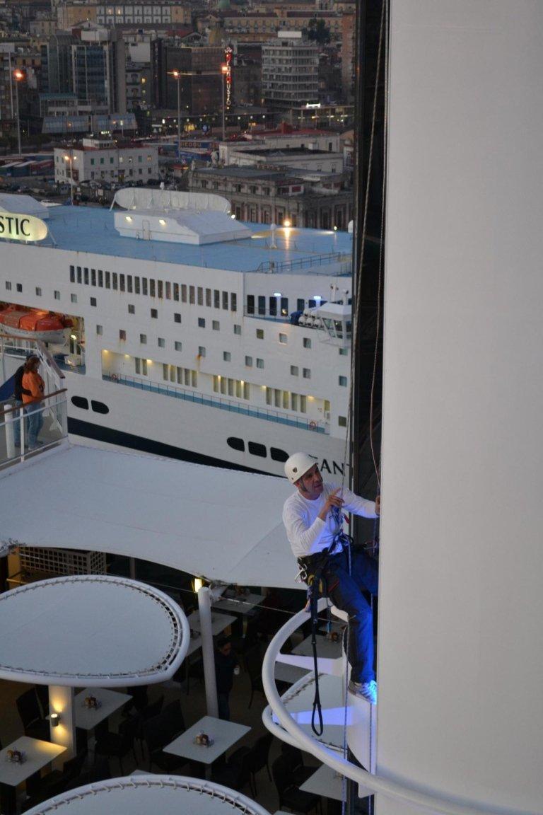 edilizia acrobatica navi