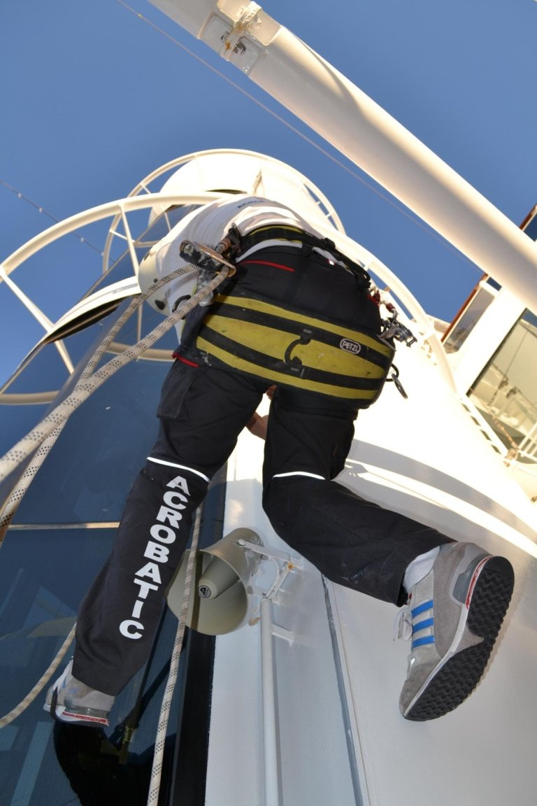 manutenzione navi su fune
