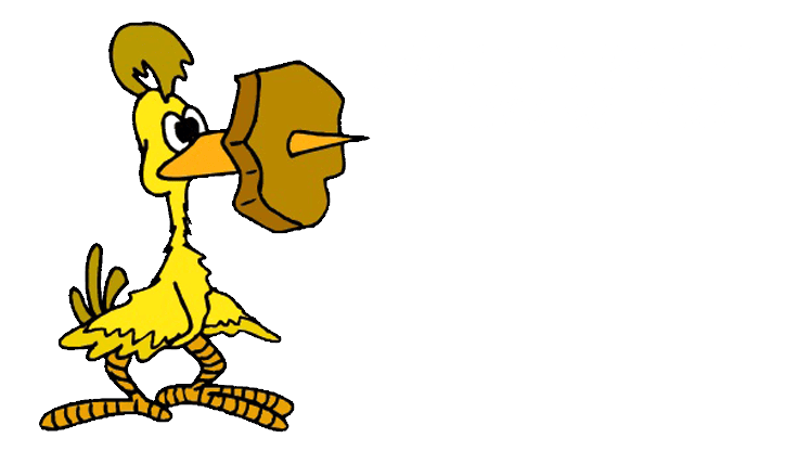 woodpecker tree services business logo