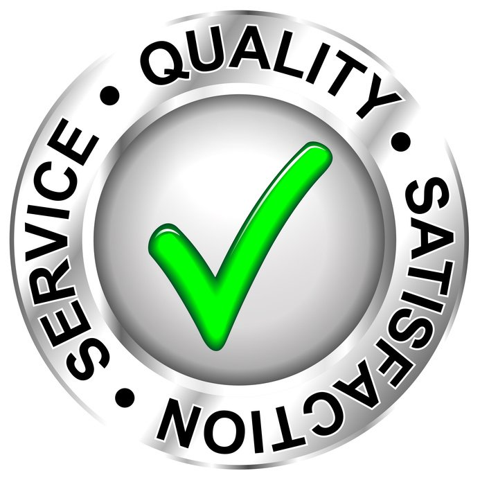 Quality, Satisfaction and Services icon