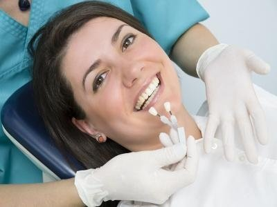 Seduta di sbiancamento denti