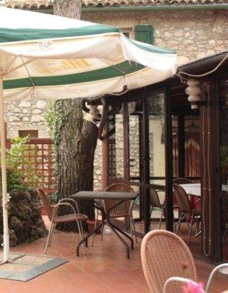 ombrellone ristorante