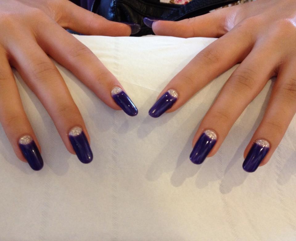 blue nail paints