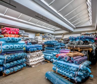 produzione e commercializzazione tessuti