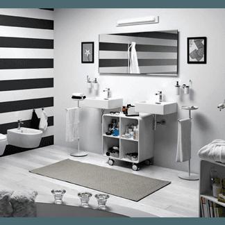 scaffali bagno