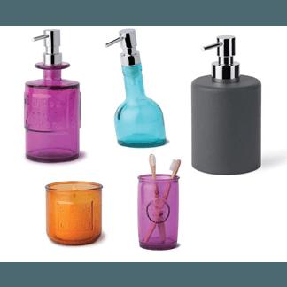 accessori colorati bagno