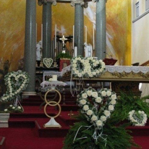 fiori per chiesa