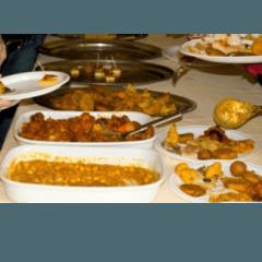 buffet piatti indiani