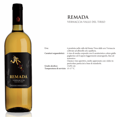 REMADA - VERNACCIA VALLE DEL TIRSO