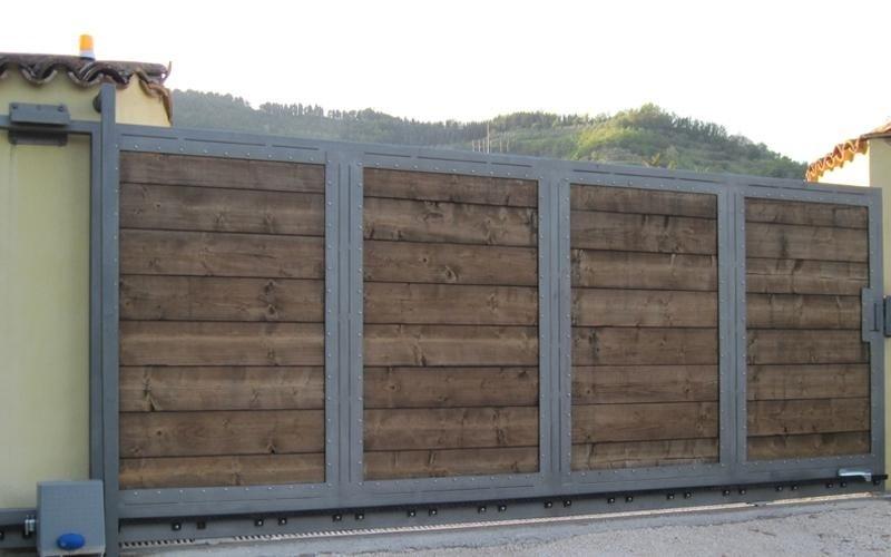 cancelli automatici legno