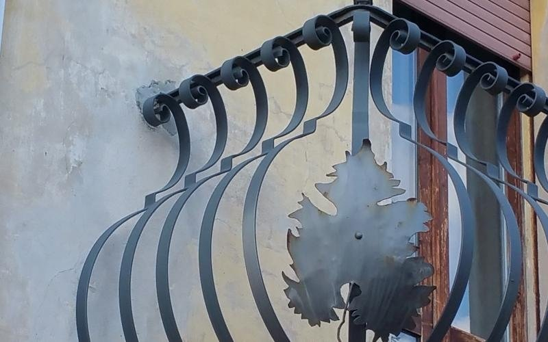 Parapetti personalizzati in ferro