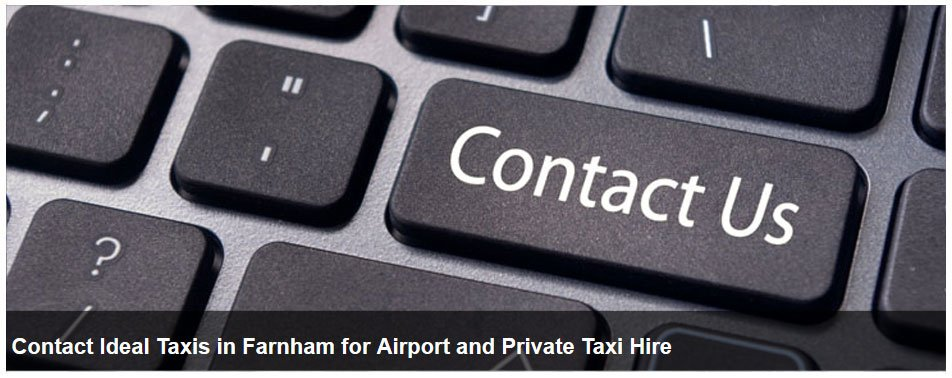 For airport transport in Hampshire call Ideal Taxis