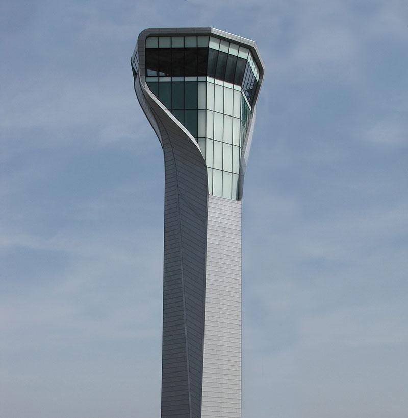 Aereoporto Kopitnari Trafic Control Tower