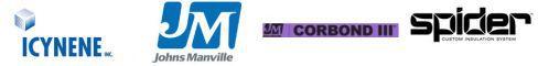 Manufacturer brand logos
