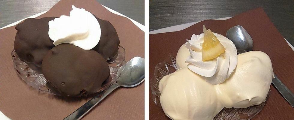 dessert a base di cioccolato
