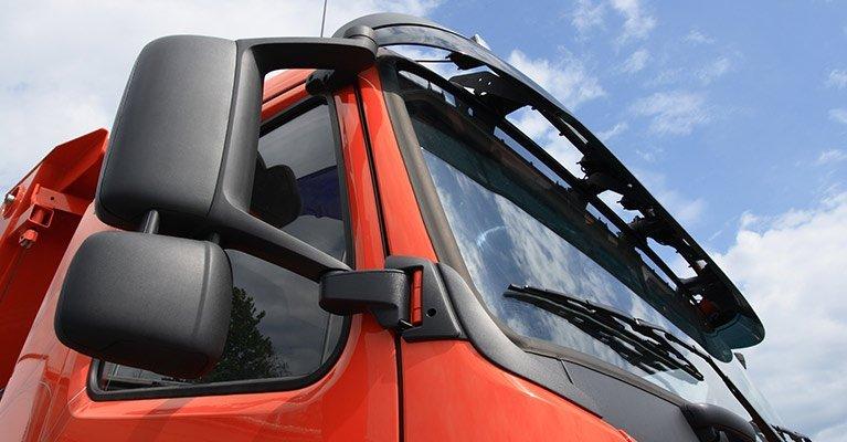 coalfields glass and windscreens trucks mirror