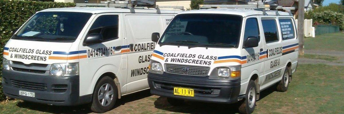 coalfields glass and windscreen home hero image