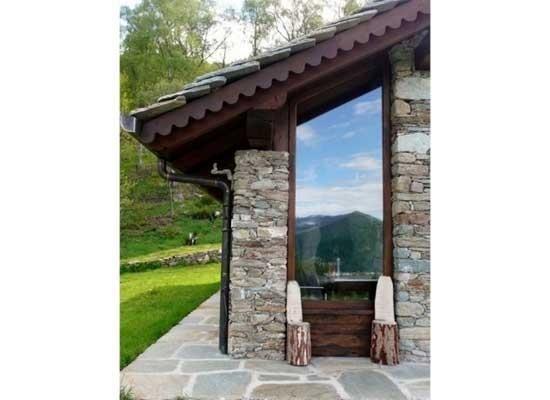Infissi per verande in legno