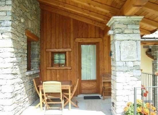 Rivestimento esterno in legno
