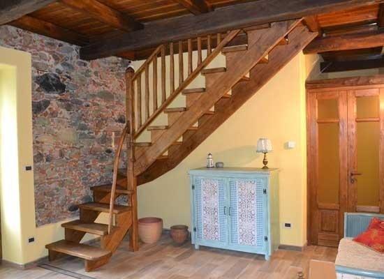Scale in legno per interni