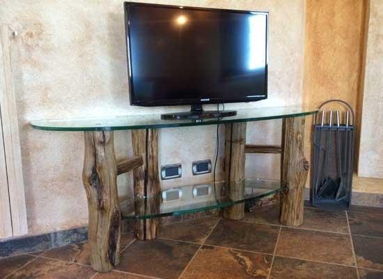 Struttura tavolino in legno