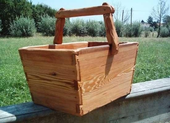 Cestello in legno