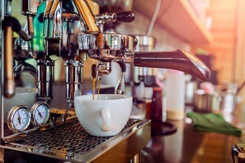 macchina professionale da bar per il caffè