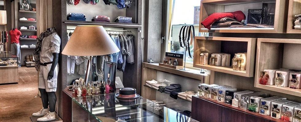 Paradisi negozio abbigliamento uomo a Sabaudia