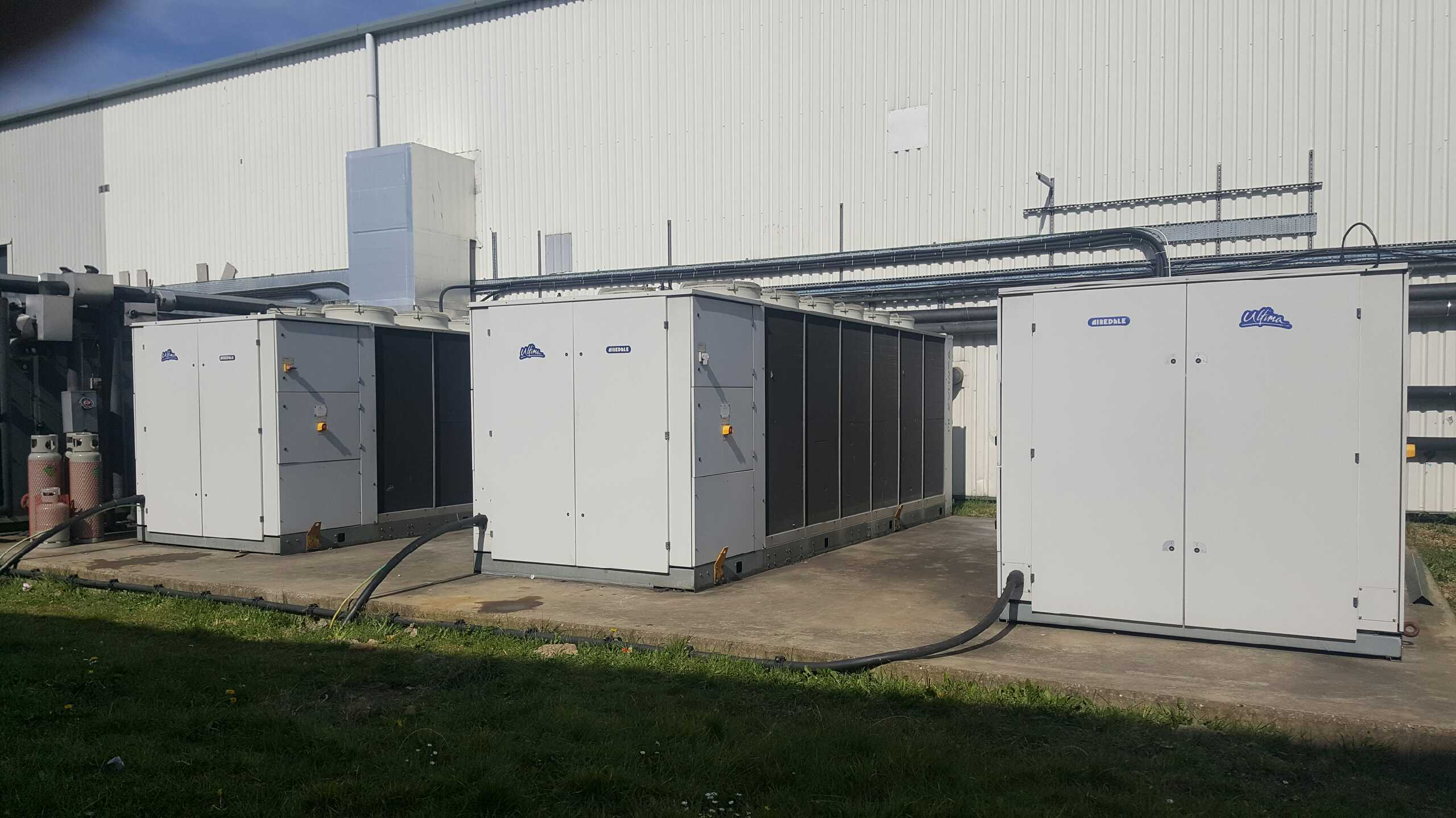Maintenance and repairs to chillers