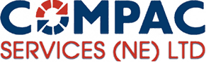 Compac Service Logo & Homepage Link