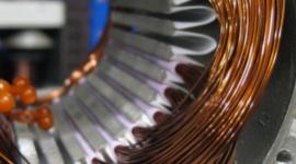 dettaglio motore elettrico