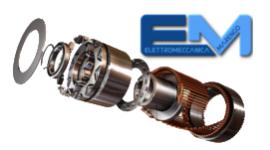 sezioni di motore elettrico