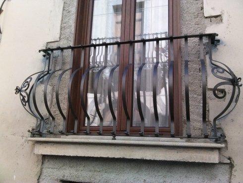 balcone in ferro forgiato e lavorato a mano - fatto da noi - Castroreale - Me -