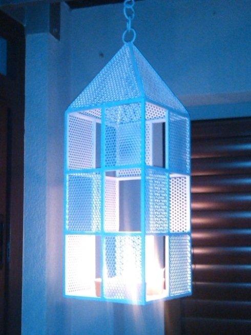 Lanterna da terrazzo da utilizzare come porta candela